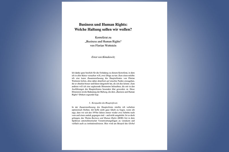 Human rights paper
