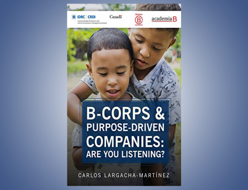 B-corps & purpose-driven companies: Are you listening?