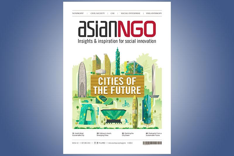 Contribution to NGO Asia Magazine
