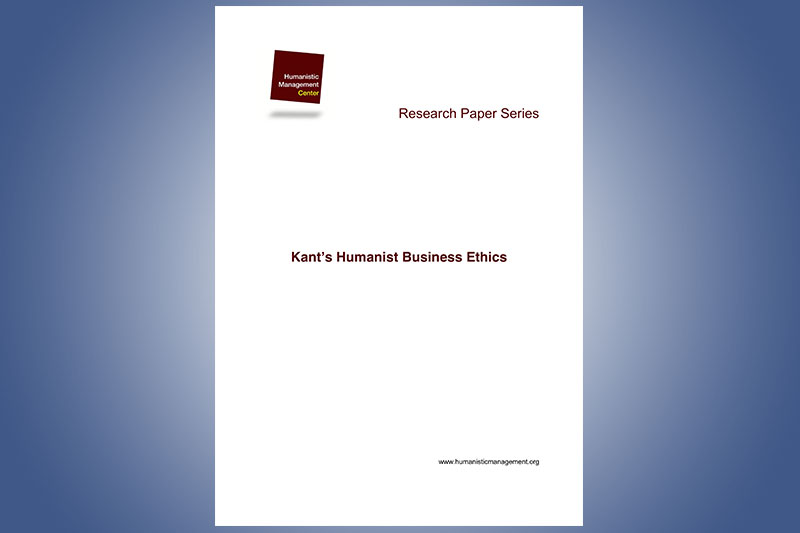 Kant's Humanistic Business Ethics