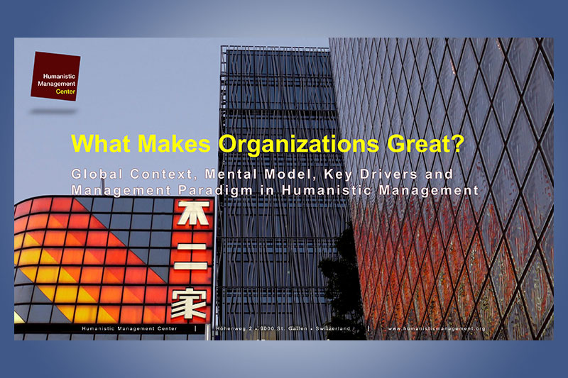 What Makes Organizations Great?